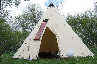 Tipi Tent Cotton Canvas Tent