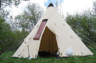 Tipi Tent katoenen Canvas Tent