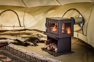 CanvasCamp Glamping Wood Stoves