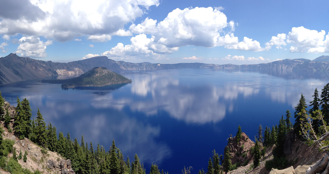 crater lake national park camping