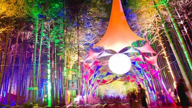 Top Music Festival Camping in North America - Electric Forest