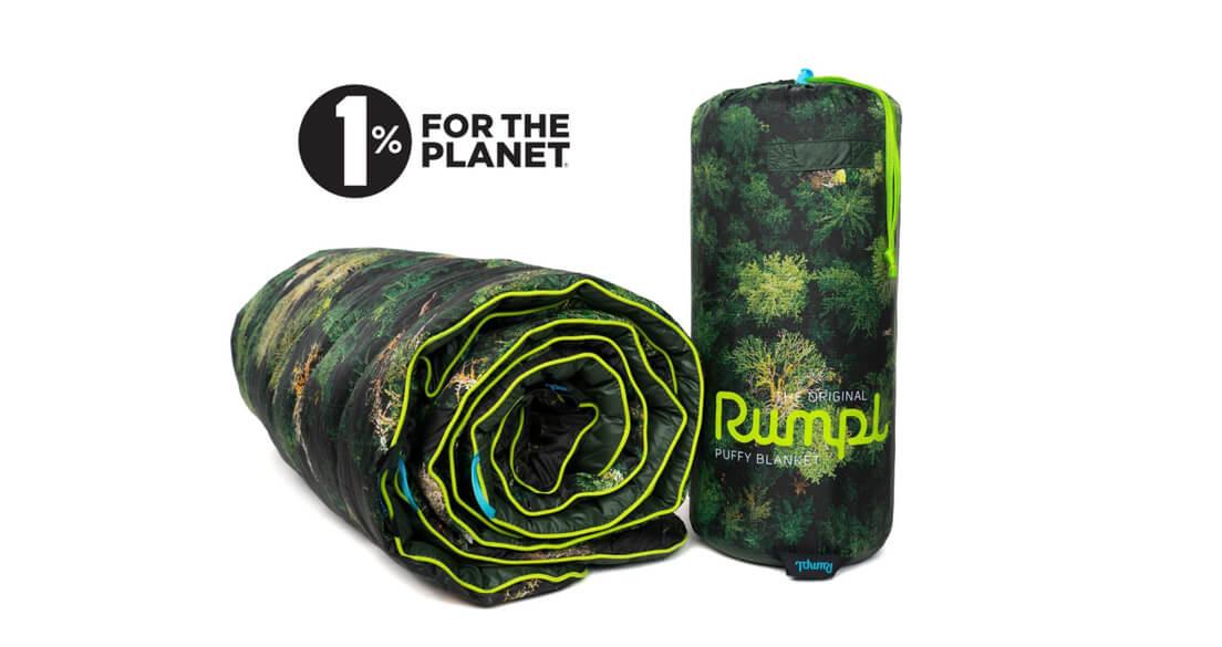 rumpl old growth puffy blanket