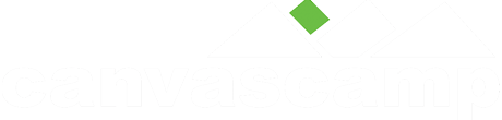 canvascamp entrance page logo